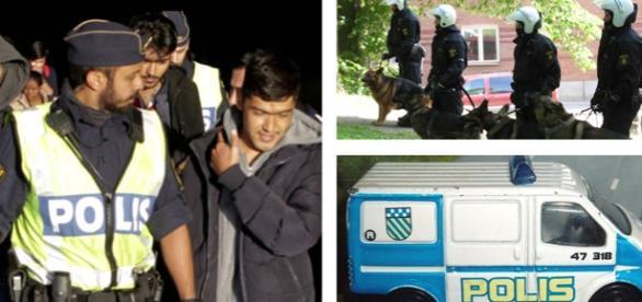 Poliţia suedeză în luptă cu bandele de imigranţi
