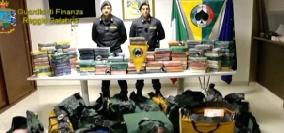 Polícia da Itália apreende cocaína vinda do Brasil