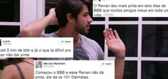 Renan do BBB - Foto/Reprodução: Globo