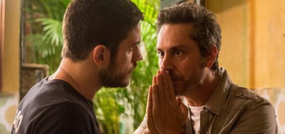 Romero e Dante - Foto/Reprodução: Globo