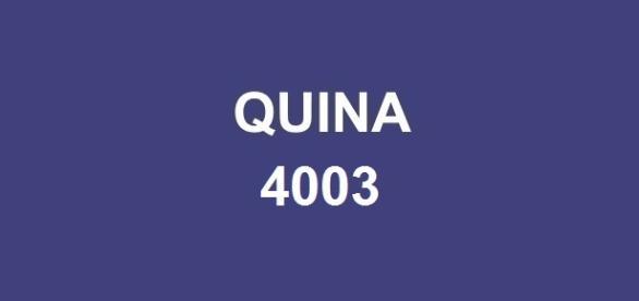 Prêmio Quina 4003 sorteou mais de R$ 500 mil