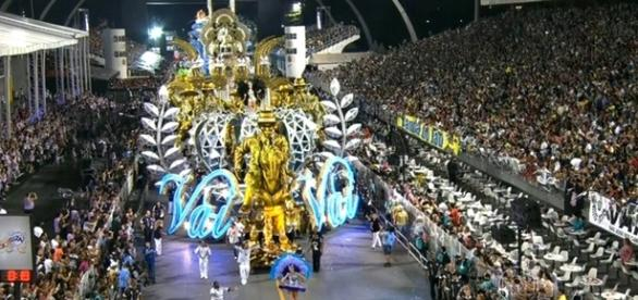 A escola de samba Vai Vai em São Paulo