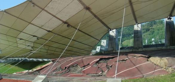 Consecuencias de un terremoto en Taiwan