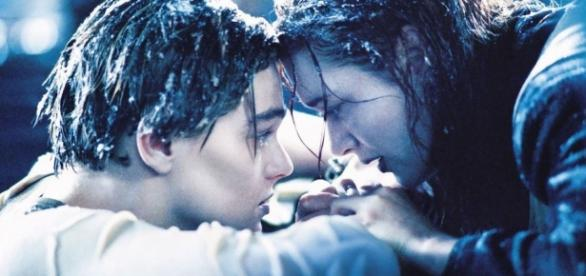Escena final Jack y Rose en Titanic