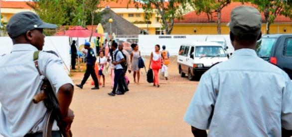 Polícias da República de Moçambique