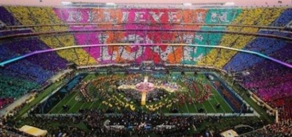 Believe in Love na stadionie w San Francisco