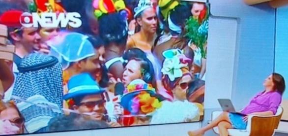 Carnaval da Globo - Foto/Reprodução