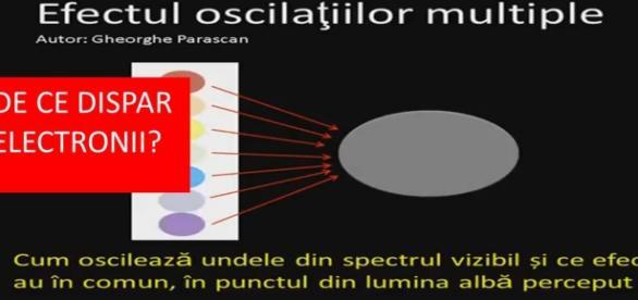 De ce dispar electronii si palpaie lumina