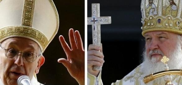 Encontro do Papa Francisco e do Patriarca Kirill