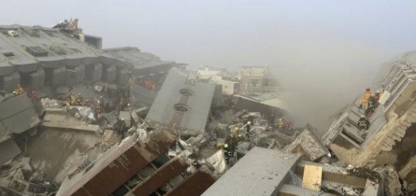 Nível de destruição da cidade de Tainan