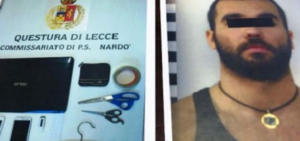 Agresorul a fost reținut de polițiștii din Italia