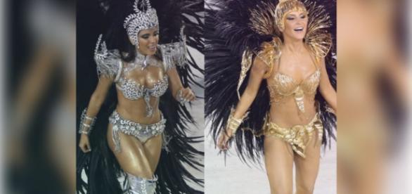 Anitta e Claudia Leitte arrasaram na avenida