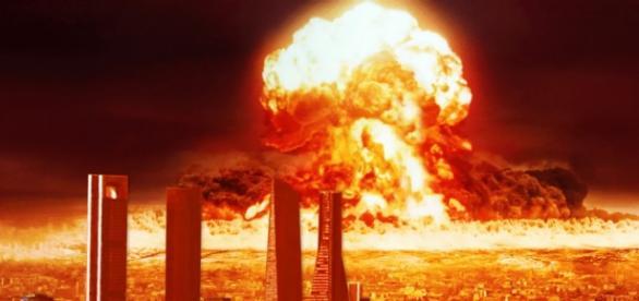 Explosión nuclear en una gran capital del mundo