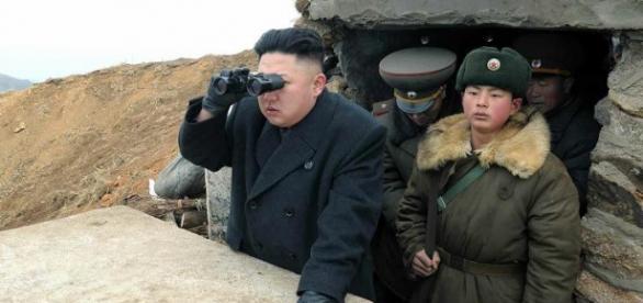 Kim Jong-un lider de Corea del Norte