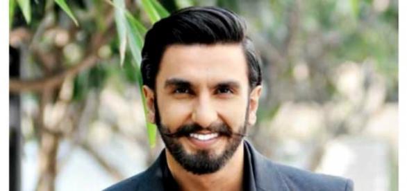 Ranveer Singh looks dapper in a black suit
