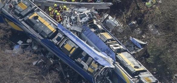 O acidente ocorreu em Bad Aibling, Baviera