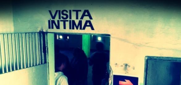 Ala da visita íntima no presídio do Ahú, Curitiba.