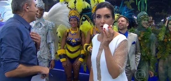 Fátima Bernardes, a Globeleza de verdade