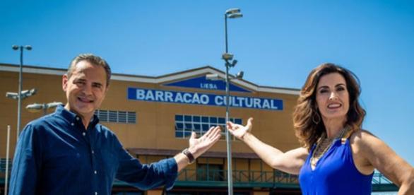 Fátima reclama da transmissão do carnaval na Globo