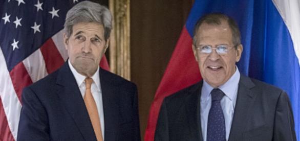 John Kerry e Sergey Lavrov a Monaco di Baviera