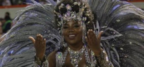 Ludmilla no Carnaval - Foto/Reprodução