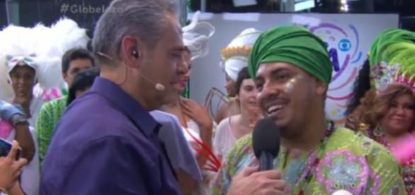 Luís Roberto perde a paciência na Globo