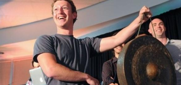 Mark Zuckerberg, clearly not the Dark Lord