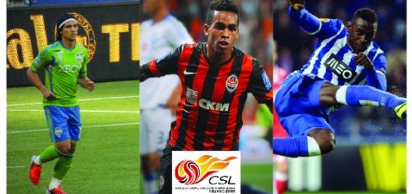 Montero, Martínez y Texeira ahora juegan en China