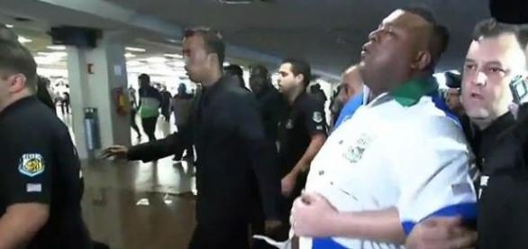 Tumulto na apuração do carnaval em São Paulo