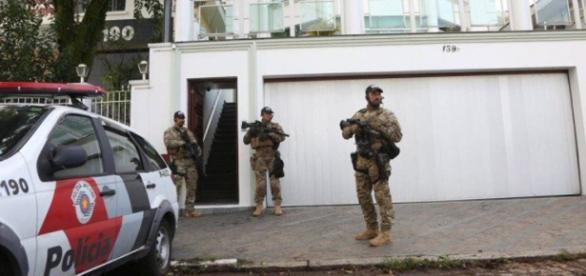 Allanada la casa de Lula da Silva