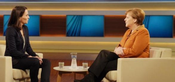 Angela Merkel interviu la ARD, cu Anne Will
