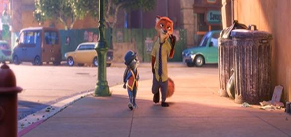 Una pareja singular. Foto: Disney Estudios.