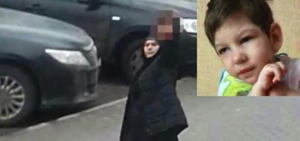Nastya, de 4 anos, morta por sua babá. YouTube