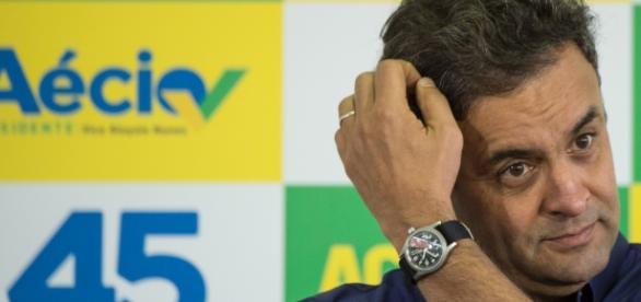 Aécio Neves, senador pelo PSDB (Foto: AFP)