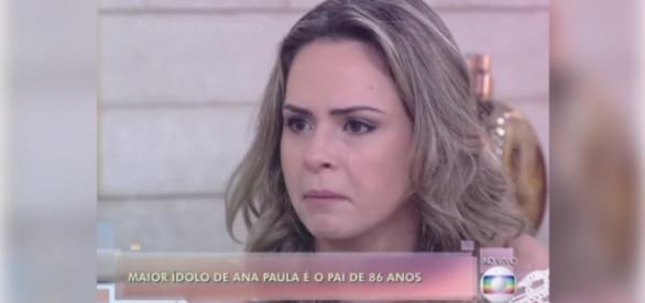 Ana Paula faz sucesso no 'Encontro com Fátima'
