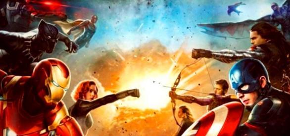 Guerra Civil é o grande filme da Marvel em 2016.