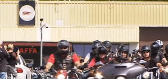 Hells Angels in Australien (Quelle YouTube)