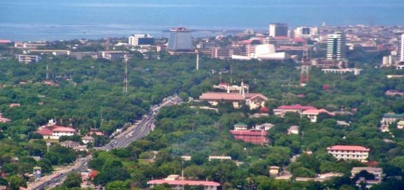 Immagine di Accra, la capitale del Ghana