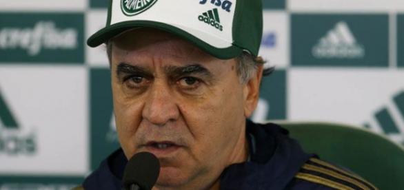 Marcelo Oliveira em entrevista coletiva