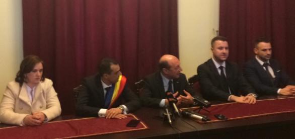 Traian Băsescu a avut parte şi de huiduieli