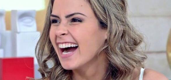 Ana Pauna no Encontro (Reprodução/Globo)