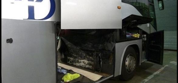 Autobuzul condus de șoferul român prins la Dover
