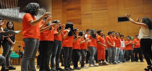 Coro juvenil Inti-zaha de caucete