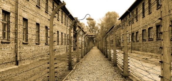 KL Auschwitz, symbol Holocaustu.