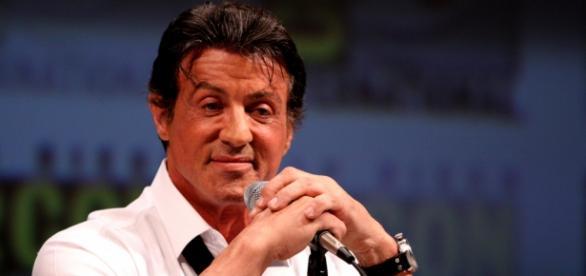 Sylvester Stallone aproveita o bom momento.