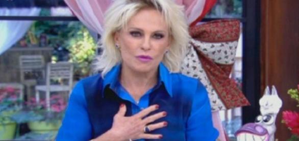 Ana Maria Braga protesta conta a corrupção