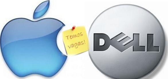 Vagas para fluente em português na Dell e Apple
