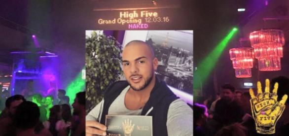 Manuel Campa organisierte die High Five-Party