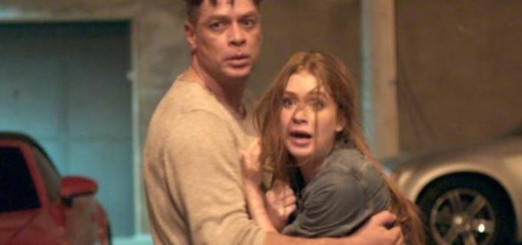 Arthur salva Eliza de levar um tiro