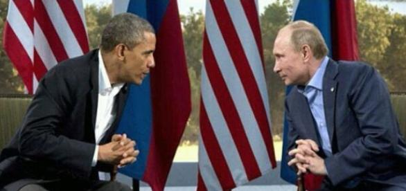 Barack Obama y Vladimir Putin. Foto: RT